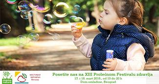 XIII Prolećni beogradski festival zdravlja