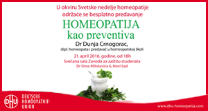 Homeopatija kao preventiva