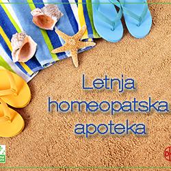 Letnja homeopatska apoteka